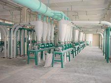 aspirarting head of flour mill equipment