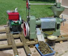 canola-oil-press-with-diesel-engine