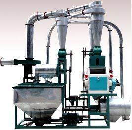 350-500kg/h Flour Mill Plant
