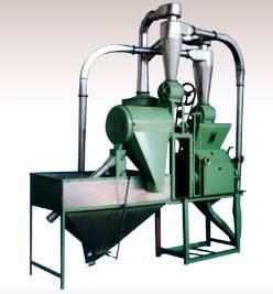 300-450kg/h 6FC Wheat Flour Mill Plant