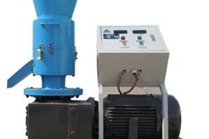 rotating roller small pellet mill